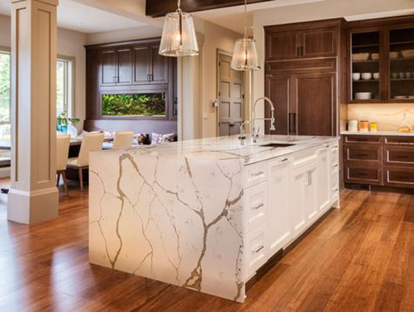 Nice We Call This U201cbookmatching,u201d And Allows You To Have A Continuous Design  Element In Your Islands, Countertops, And Vertical Walls. The Design Will  Stand Out ...